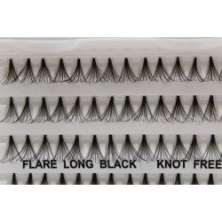 Flare Long Eyelashes Knot Free