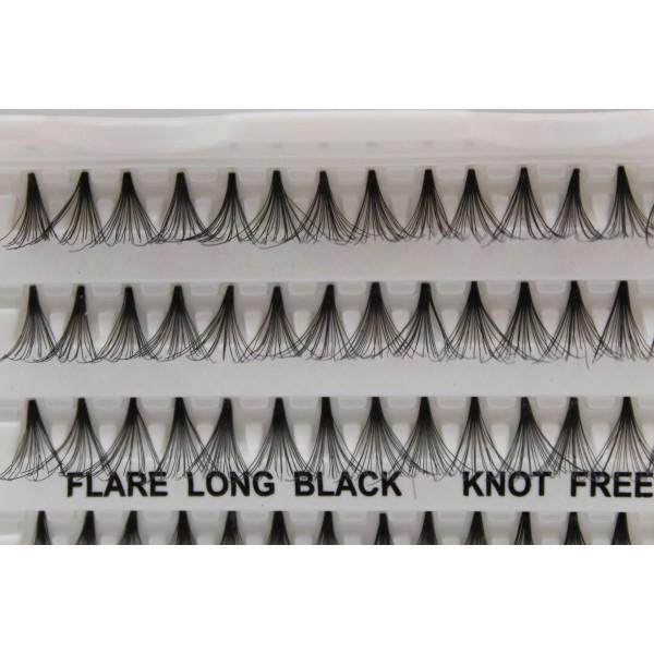 Flare Long Eyelashes Knot Free