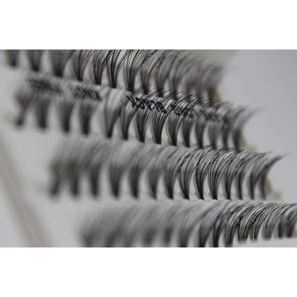 Eyelashes 100 pcs Set