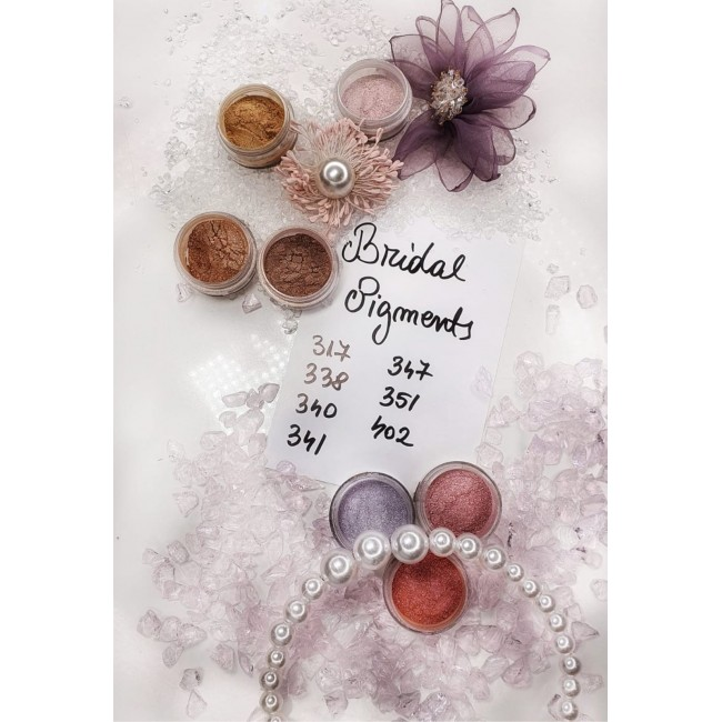 Bridesmaids Flowers- Mostre Pigmenti Mirese Set Nr 11